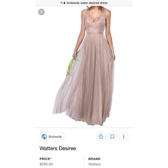 Watters Dresses | Desiree Bridesmaid Dress | Poshmark